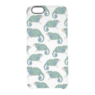 Chameleon Pattern Clear iPhone 6/6S Case