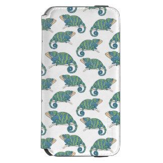 Chameleon Pattern Incipio Watson™ iPhone 6 Wallet Case