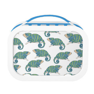 Chameleon Pattern Lunchboxes