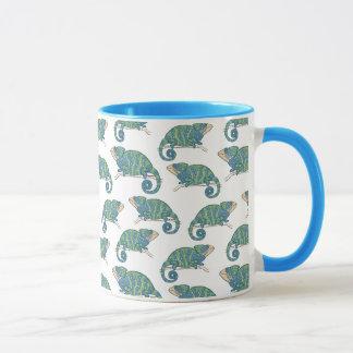 Chameleon Pattern Mug