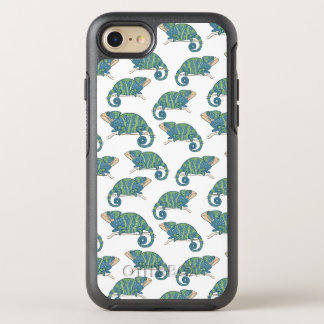 Chameleon Pattern OtterBox Symmetry iPhone 7 Case