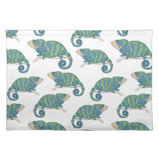 Chameleon Pattern Placemat