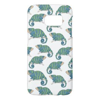 Chameleon Pattern Samsung Galaxy S7 Case