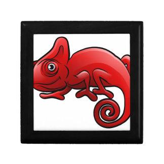 Chameleon Safari Animals Cartoon Character Gift Box