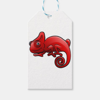 Chameleon Safari Animals Cartoon Character Gift Tags