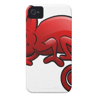 Chameleon Safari Animals Cartoon Character iPhone 4 Case-Mate Cases