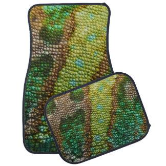 Chameleon Skin Texture Template Floor Mat