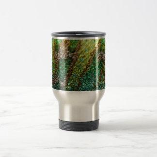Chameleon Skin Texture Template Travel Mug