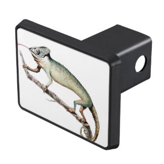 Chameleon Vintage Art Tow Hitch Cover