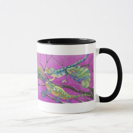 Chameleons, lizards mug