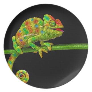 Chameleons Plate
