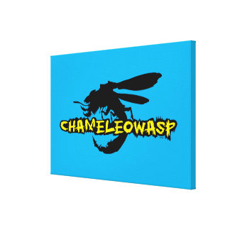 Chameleowasp Canvas Print