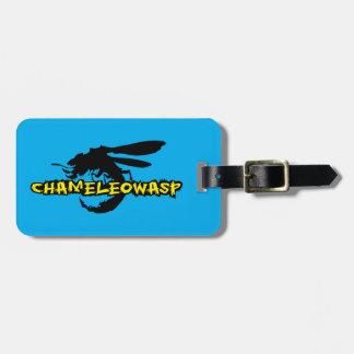 Chameleowasp Luggage Tag
