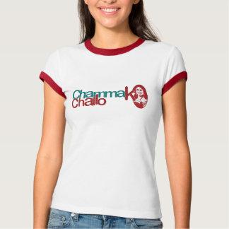 Chammak Challo Beautiful Girl in Hindi Tee Shirt