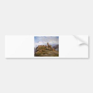 Chamois by Rosa Bonheur Bumper Sticker