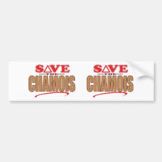 Chamois Save Bumper Sticker
