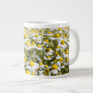Chamomile Field, Hungary Giant Coffee Mug