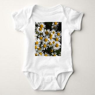 Chamomile flowers baby bodysuit