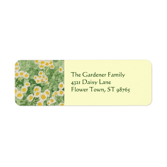Chamomiles Return Address Label
