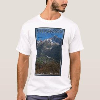 Chamonix - Aiguille Verte above Chamonix T-Shirt