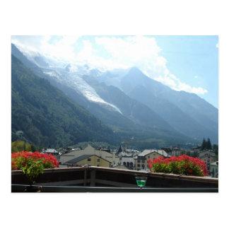 Chamonix, France Postcard
