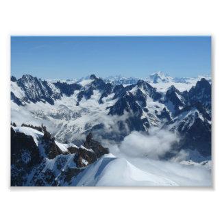 Chamonix French Alps Photo Print