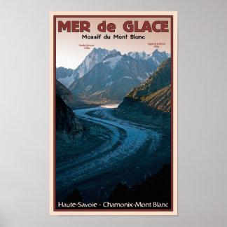 Chamonix - Mer de Glace Poster