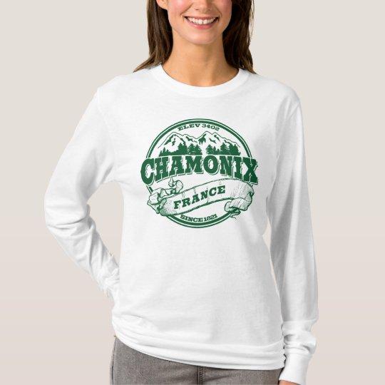 Chamonix Old Circle Green T-Shirt