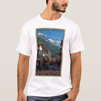 Chamonix Town T-Shirt