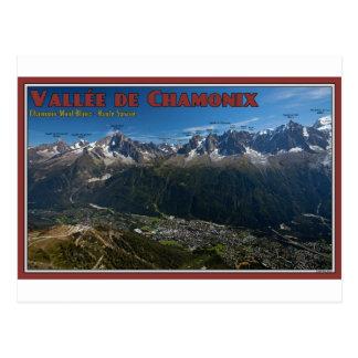 Chamonix Valley Postcard