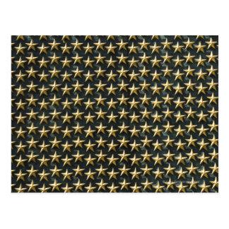 Champ des étoiles d'or au mémorial de la deuxième  carte postale