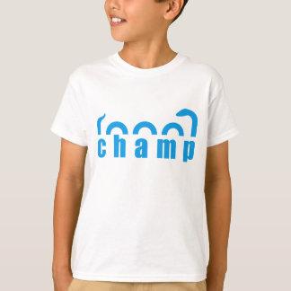 Champ Lake Monster Design T-Shirt