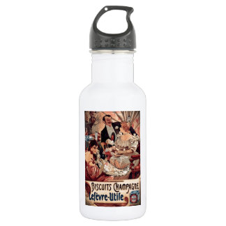 Champagne Biscuits 1896 18oz Water Bottle
