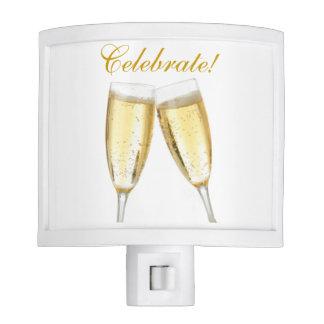 Champagne Celebration Night Light