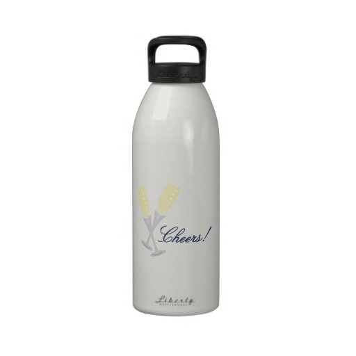 Champagne Cheers Drinking Bottle