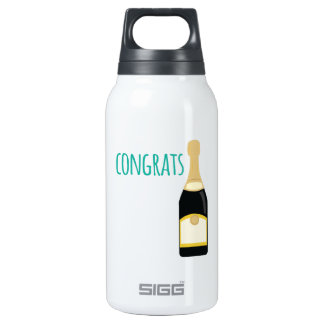 champagne congrats SIGG thermo 0.3L insulated bottle