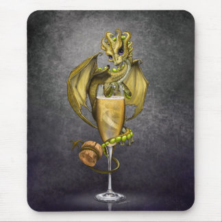 Champagne Dragon mousepad