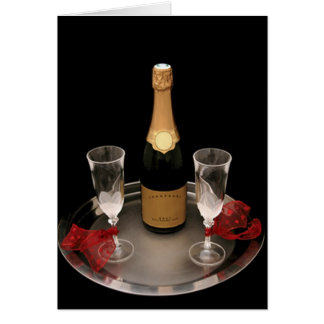 Champagne for Two Card