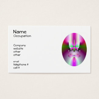 Champagne Glass Business Cards