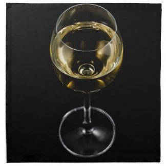 champagne glass napkin