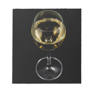 champagne glass notepad