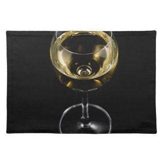 champagne glass placemat