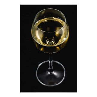 champagne glass stationery