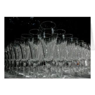 Champagne Glasses Card