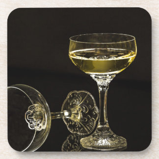 champagne glasses coasters