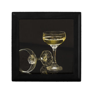 champagne glasses gift box