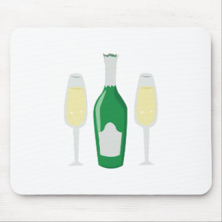 Champagne Glasses Mousepad