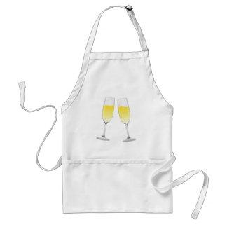 Champagne Glasses Standard Apron