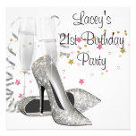 Champagne High Heels 21st Birthday Party