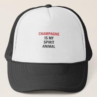 Champagne is my Spirit Animal Trucker Hat